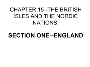 chapter 15--the british isles and the nordic nations.