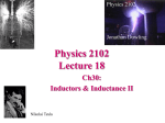 Physics 2102 Spring 2002 Lecture 15