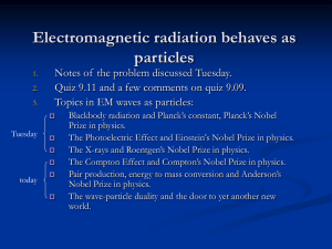 Wave as particle 2