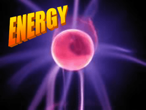 Energy - World of Teaching