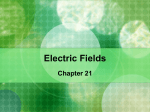 Electric Fields 21.1