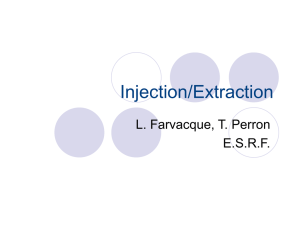Injection/Extraction