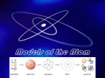 4.1-Models of the Atom