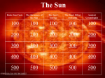 the sun jeopardy