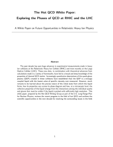 The Hot QCD White Paper: