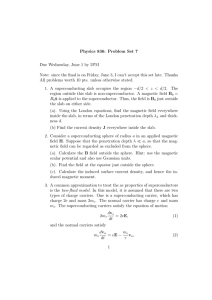 Physics 836: Problem Set 7 Due Wednesday, June 1 by 5PM