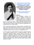 "Revisiting Past and Present Approaches to ""Universality"": From the Case of a Young Japanese Monk Traveling to India to the Contemporary Landscapes of Japanese and Taiwanese Buddhist Traditions"