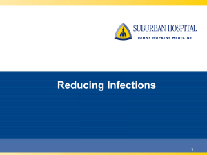 Reducing Infections