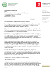 Letter to Representative Smith 8 July 2014 (opens in new window)