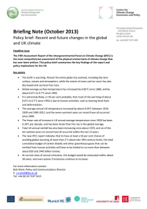 Briefing note: Changes in global and uk climate (222 kB) (opens in new window)