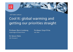 Download Simon Dietz's presentation: Why economics supports strong action to reduce the risks of climate change