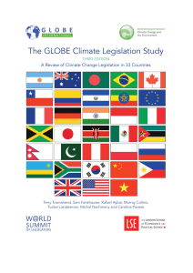 3rd GLOBE review of climate change legislation