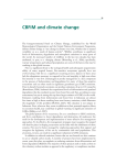 CBFiM and climate change