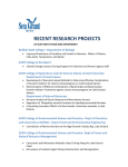 NYSG's Recent Research Projects by SUNY Institution (pdf)
