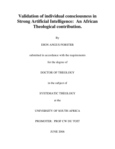 An African Theological contribution.