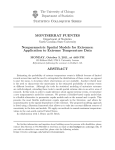 Nonparametric Spatial Models for Extremes: Application to Extreme Temperature Data