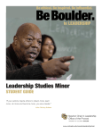Leadership Studies Guide
