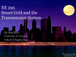 Slides for Smart Grid and Transmission