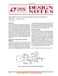DN306 - High Performance Op Amps Deliver Precision Waveform Synthesis