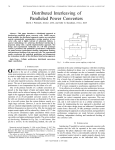 D.J. Perreault and J.G. Kassakian, Distributed Interleaving of Paralleled Power Converters, IEEE Transactions on Circuits and Systems I , Vol. 44, No. 8, Aug. 1997, pp. 728-734.