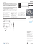 TS-5LT T SO Cord Specification Sheet