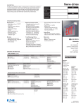 ES Series specification sheet