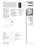 INV550SI Mini Inverter spec sheet