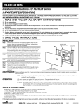 Installation Instructions for RD/RLM Series