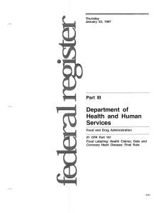 Department of Health and Human Services Part 111