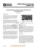 AN-566: A Geophone/Hydrophone Acquisition Reference Design