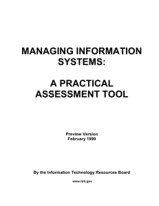 MANAGING INFORMATION SYSTEMS:  A PRACTICAL