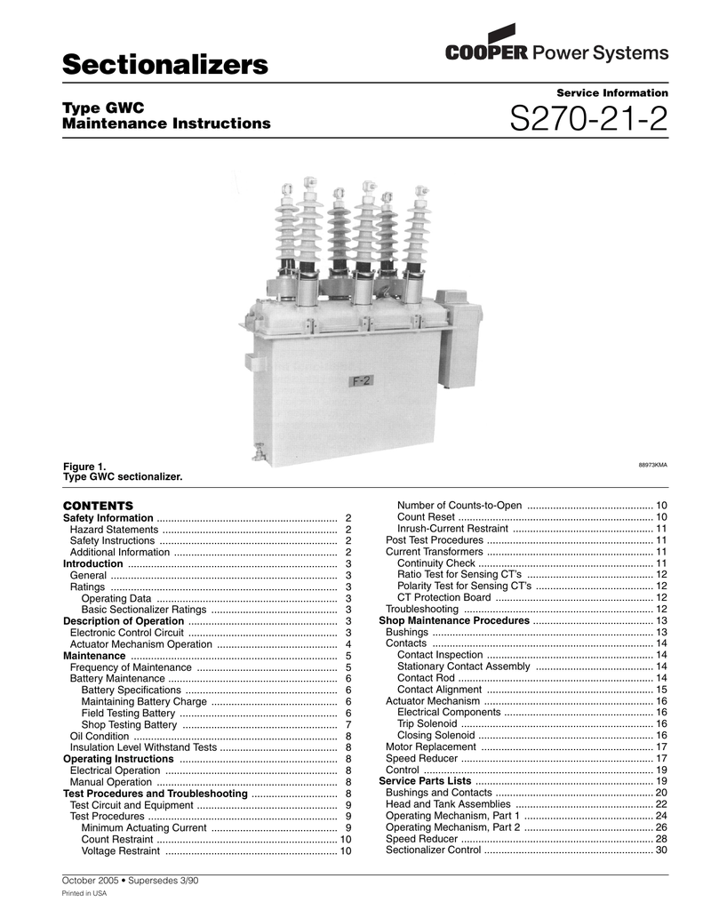S270 21 2 Discontinued High Voltage Vacuum Circuit Breaker With Lateral Operating Mechanism4