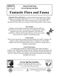 Fantastic Flora and Fauna School Field Trips Green Spring Gardens