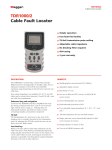TDR1000/2 Cable Fault Locator