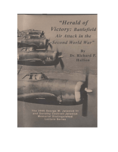 Herald of Victory: Battlefield Air Attack in the Second World War