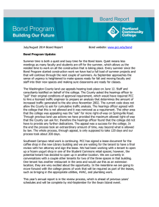 July/August 2014 Board Report