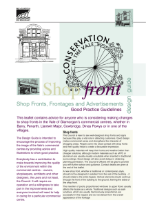 Shop Front Design Guidance