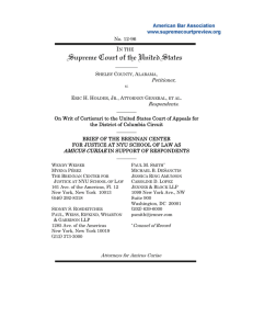 Brief for the Brennan Center as Amicus Curiae