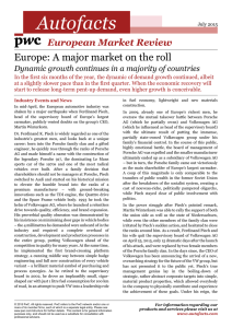 Autofacts Europe: A major market on the roll  European Market Review