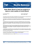 State Water Board to fund two projects to