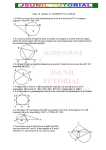 Class 10  Chapter 10. TANGENTS TO A CIRCLE