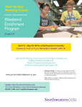 Weekend Enrichment Program New! Sunday