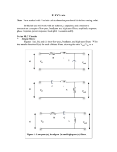 RLC Circuits Note