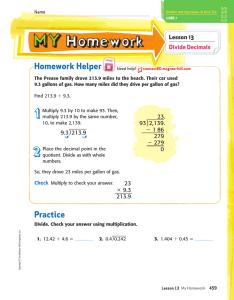 answer my homework