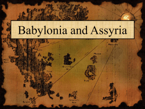 Babylonia and Assyria