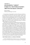 "SPONSORING ""GREEN"" SUBJECTS: THE WORLD BANK'S 2009 YOUTH ESSAY CONTEST CHAPTER 14."