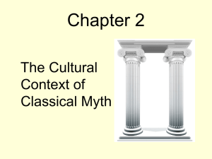 Chapter 2  The Cultural Context of