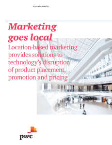 Marketing goes local