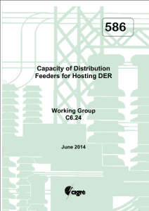 586 Capacity of Distribution Feeders for Hosting DER