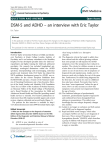 – an interview with Eric Taylor DSM-5 and ADHD Open Access